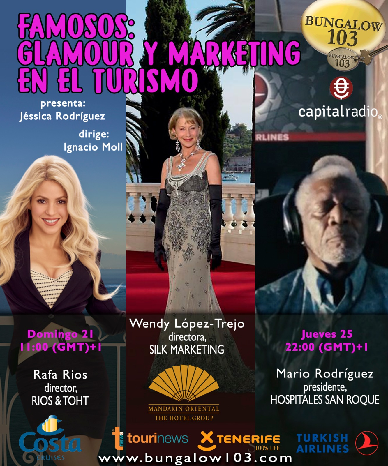 FAMOSOS: GLAMOUR Y MARKETING EN EL TURISMO
